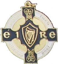 Gold & Navy 34mm GAA Medal